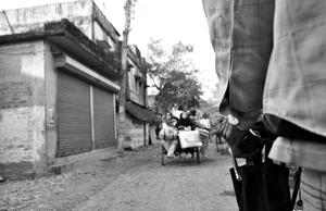 Following the faithful in Gangasagar