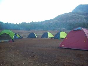 Camping at Bhandardara!