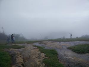 The panorama of Nandi Hills