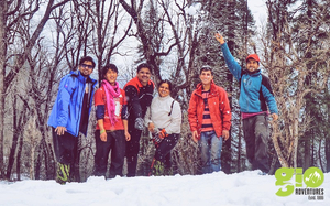 Snow trekking to Kedar Kantha – GIO adventures