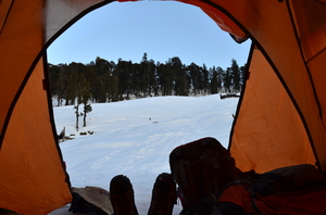 Winter trek to Kedarkantha Summit