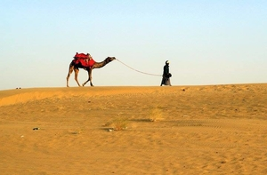 Footsteps in the golden city - Jaisalmer