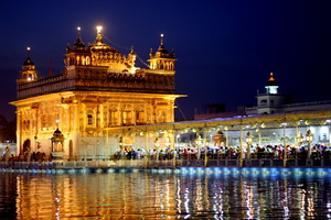 A night at the Golden Temple