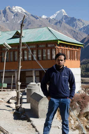Ashish Tripathi Travel Blogger