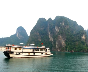 Where dragons once belonged: Halong Bay