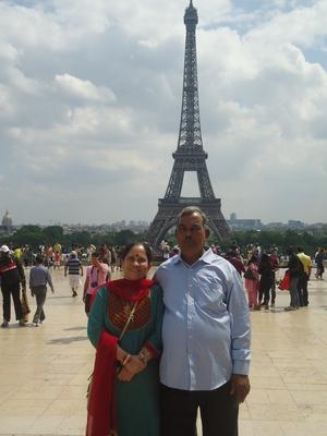 My parent's Euro trip.