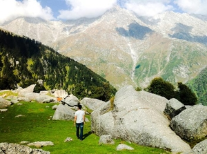 Caressing The Curves Of The Triund Valley