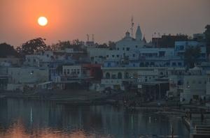Pushkaring in Pushkar