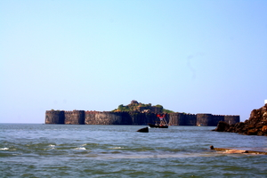 Murud Janjira- An unassailable  marine fort !!