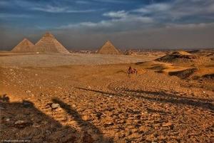 Giza Pyramids and Sphinx Half Day Tour