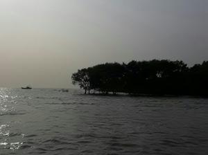 Serene Gangasagar island