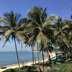 Biking in North Goa
