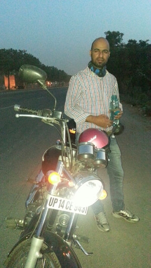 Me & Himachal With Two Wheels