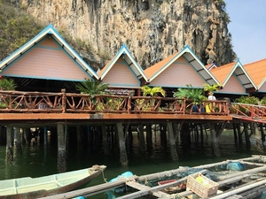 Koh Panyee, the floating village