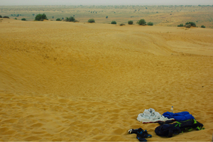 Sand dunes, shooting stars and stories.