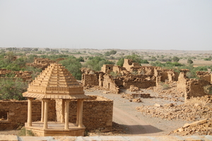 City of sand and camels: Jaisalmer