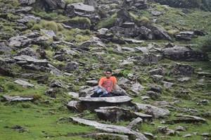 Trecking to  Baba Tungnath