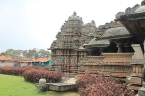 Wonders of Hoysala architecture @ Halebidu