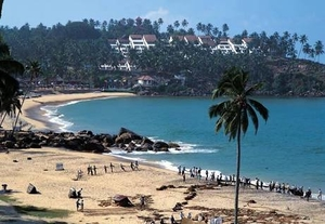 South India: Rameshwaram, Kanyakumari, Kovalam Beach, Kovalam Backwaters