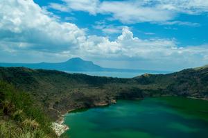 Trek To Taal Volcano : Exploring Tagaytay