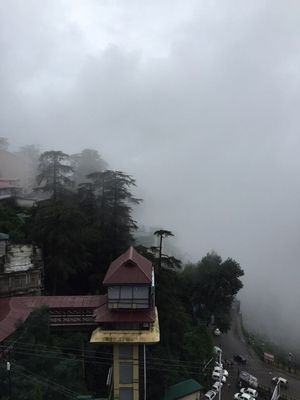 A monsoon treat- Shimla