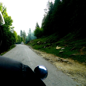 The Himalayan Trail on a motorbike: Himachal Prade