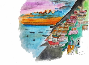 Italy in Colors: Sketches and Stories