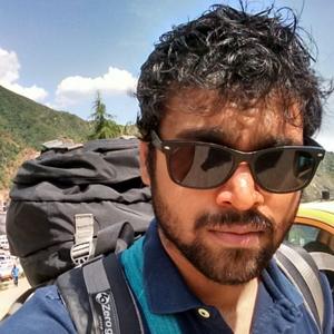 Ashvin Kumar Mishra Travel Blogger