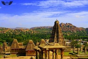 Hampi Temple Travelling