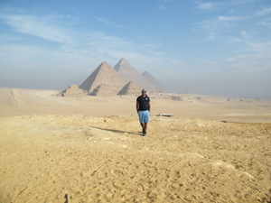 Backpacking in Cairo