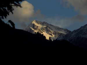Manali- Beauty of hills, snow and greens.