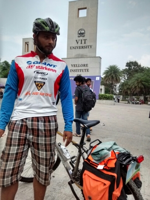 32 districts 32 days 3200 kms on a cycle - Part 1