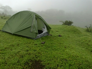 Camping in the ghats - Checked!