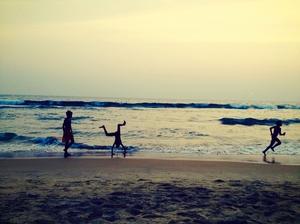 Beach bumming solo in Varkala