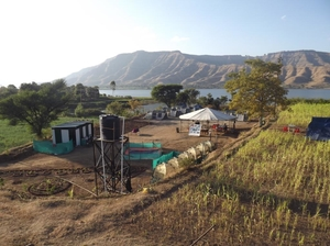 Krishna River Camp Travel Blogger