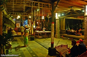 Partying in Bali