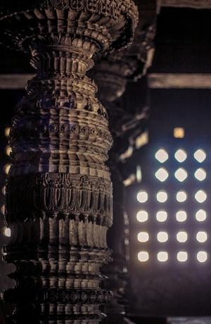 Karnataka on my palette - Shravanbelagola,Halebidu