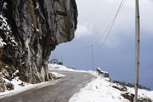 The mighty Sela pass.
