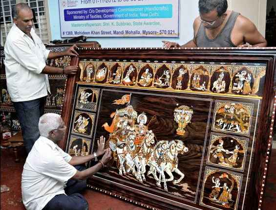 Learned a new skill in Mysore. | The Art of Rosewood Inlay | Mysore |  learningholiday - Tripoto