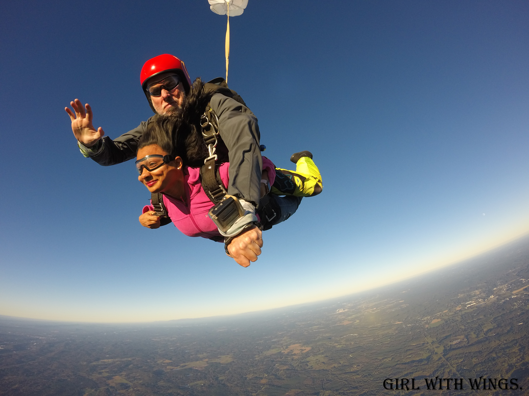 Tandem Sky Diving | Video | Atlanta | Georgia | America