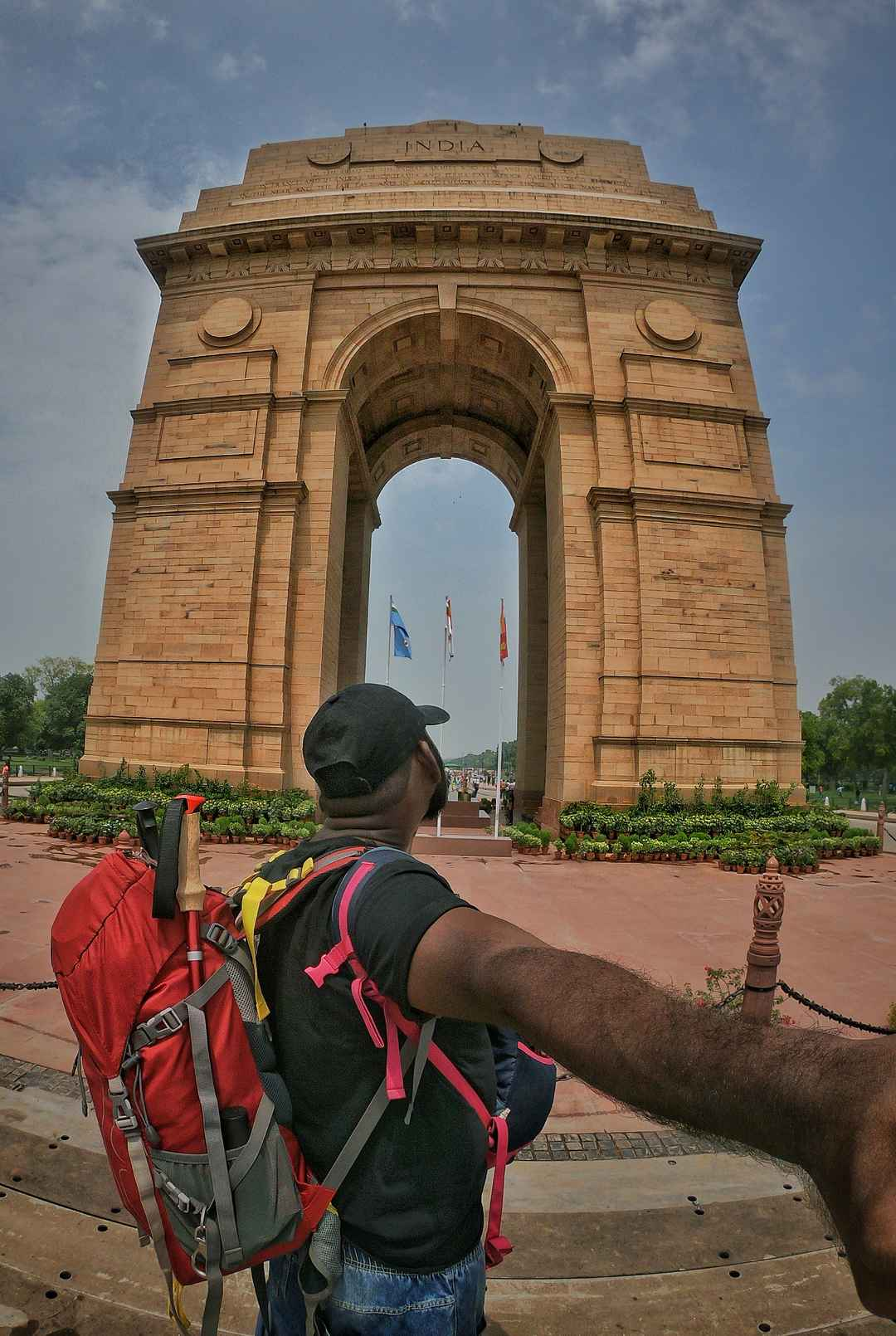 You can't miss to visit this monument on your Delhi trip...!! #SelfieWithAView  #TripotoCommunity