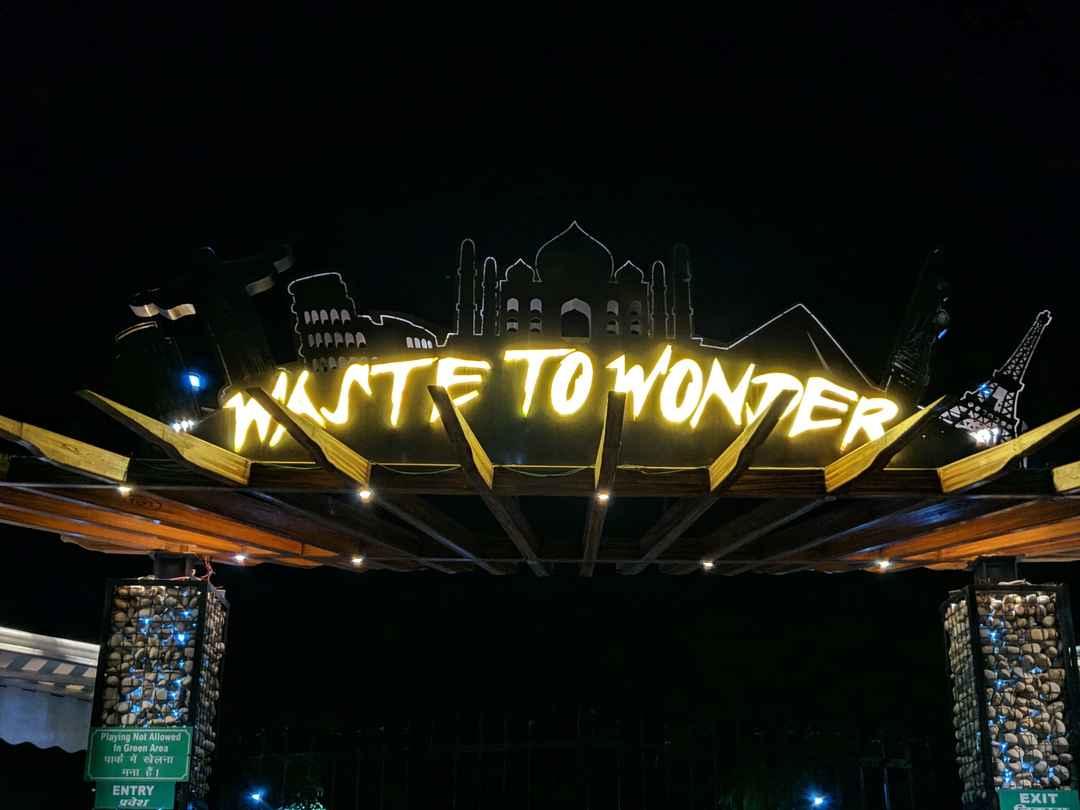 Waste to Wonder Theme Park