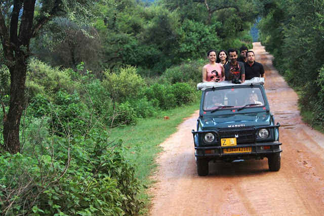 SARISKA...a short adventurous trip