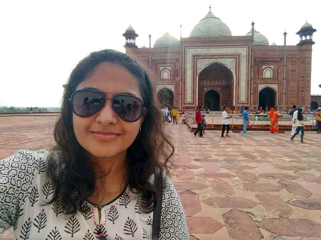 #historicalplaces #SelfieWithAView #TajMahal #TripotoCommunity