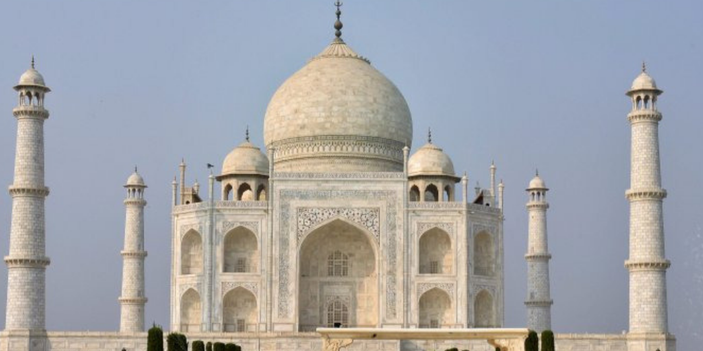 See How I Reached to Taj mahal First time?