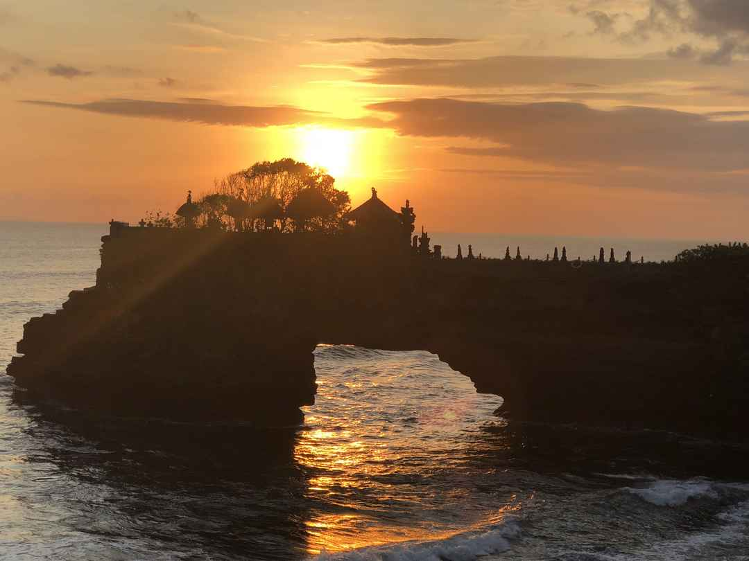 The beauty that Bali is! Tiny Island offering the best of views.