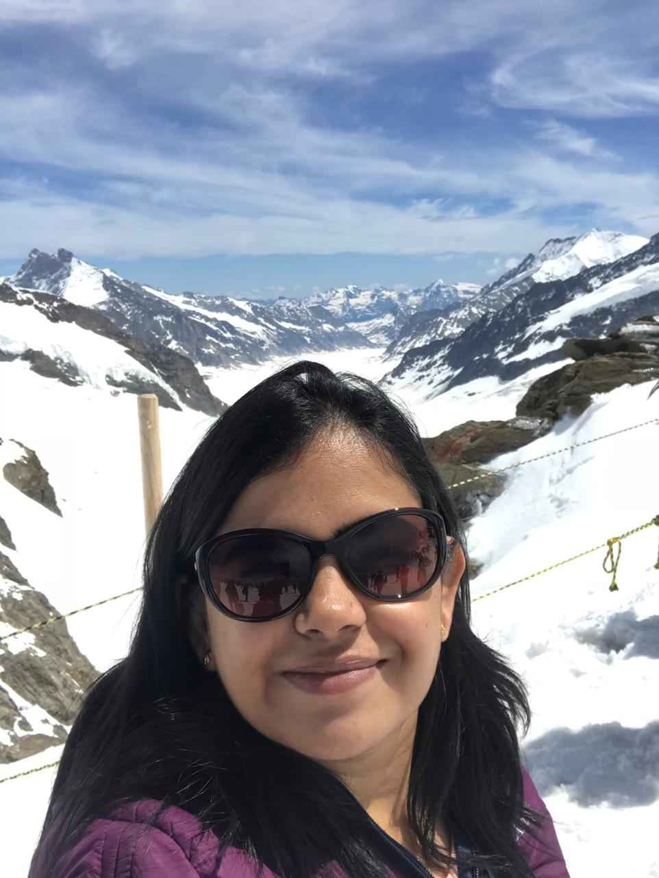 Switzerland ???????? Jungfrau Region: The Top of Europe..!!  #SelfieWithAView #TripotoCommunity