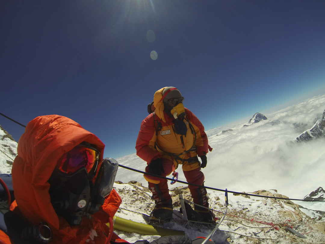 The world from #Everest almost feels like a different Planet.   #SelfieWithAView #TripotoCommunity