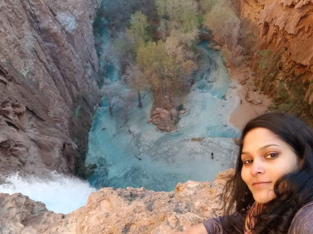 #SelfieWithAView #TripotoCommunity Toughest Selfie I Ever Took