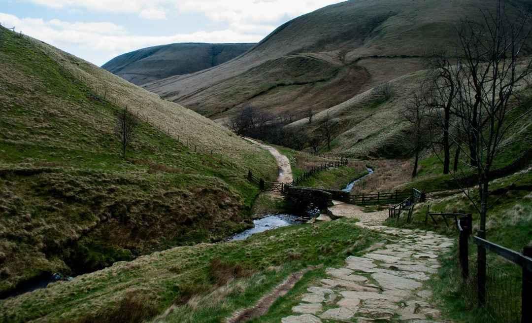 Kinder Scout Hike, Peak District, United Kingdom